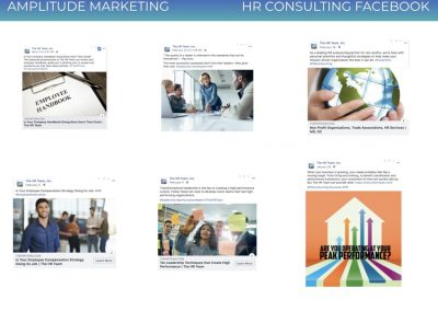 Social Media Work Samples HR consulting facebook