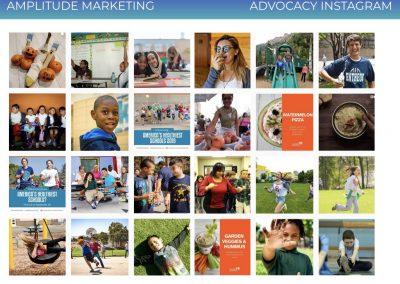 Social Media Work Samples advocacy instagram