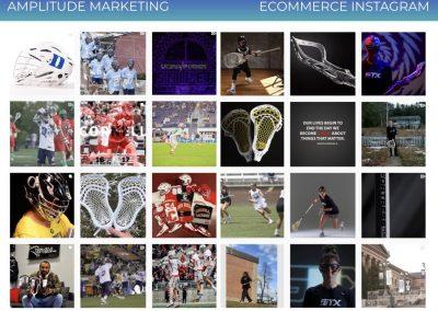 Social Media Work Samples ecommerce instagram