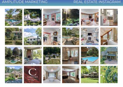 Social Media Work Samples real estate instagram